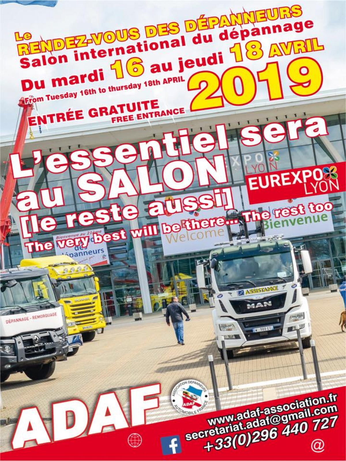 Tow show at lyon from 16 to 18 of april 2019