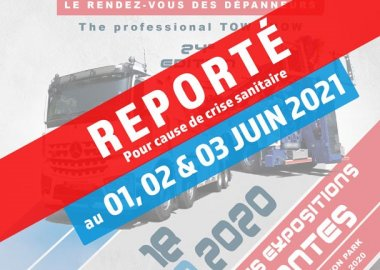 Tow show in Nantes (44) is France has been postponed !
