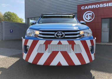 New steel bumper for TOYOTA HILUX